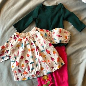Gymboree baby clothes bundle (shirts and pants)